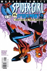 Cover Thumbnail for Spider-Girl (Marvel, 1998 series) #33