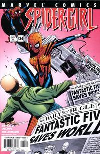 Cover Thumbnail for Spider-Girl (Marvel, 1998 series) #34