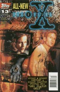Cover Thumbnail for The X-Files (Topps, 1995 series) #13 [Newsstand]