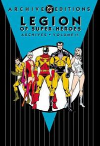 Cover Thumbnail for The Legion of Super-Heroes Archives (DC, 1991 series) #11
