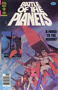 Cover Thumbnail for Battle of the Planets (Western, 1979 series) #1 [Gold Key]