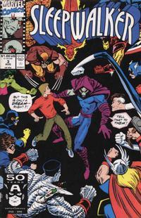 Cover Thumbnail for Sleepwalker (Marvel, 1991 series) #3 [Direct]