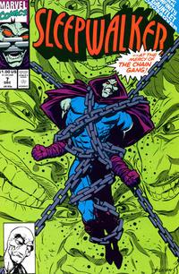 Cover Thumbnail for Sleepwalker (Marvel, 1991 series) #7 [Direct]