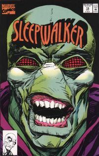 Cover Thumbnail for Sleepwalker (Marvel, 1991 series) #19