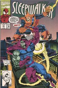 Cover Thumbnail for Sleepwalker (Marvel, 1991 series) #21 [Direct]