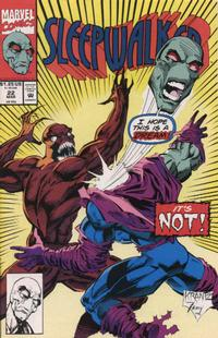 Cover Thumbnail for Sleepwalker (Marvel, 1991 series) #22 [Direct]