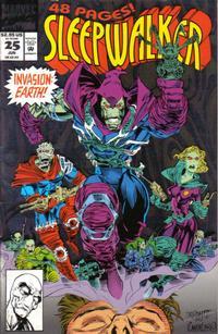 Cover Thumbnail for Sleepwalker (Marvel, 1991 series) #25