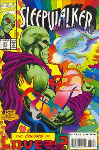 Cover Thumbnail for Sleepwalker (Marvel, 1991 series) #31