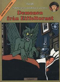 Cover Thumbnail for Adeles extraordinära äventyr (Carlsen/if [SE], 1979 series) #2 - Demonen från Eiffeltornet
