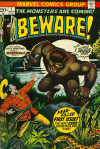 Cover Thumbnail for Beware (Marvel, 1973 series) #1
