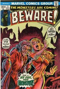 Cover for Beware (Marvel, 1973 series) #5
