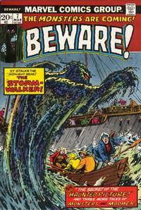 Cover Thumbnail for Beware (Marvel, 1973 series) #7