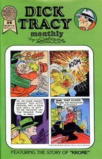 Cover Thumbnail for Dick Tracy Monthly (Blackthorne, 1986 series) #6