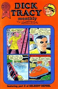 Cover Thumbnail for Dick Tracy Monthly (Blackthorne, 1986 series) #8