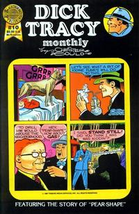 Cover Thumbnail for Dick Tracy Monthly (Blackthorne, 1986 series) #10