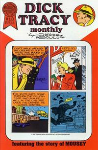 Cover Thumbnail for Dick Tracy Monthly (Blackthorne, 1986 series) #13