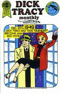 Cover Thumbnail for Dick Tracy Monthly (Blackthorne, 1986 series) #14