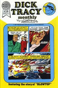 Cover Thumbnail for Dick Tracy Monthly (Blackthorne, 1986 series) #16
