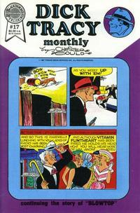 Cover Thumbnail for Dick Tracy Monthly (Blackthorne, 1986 series) #17