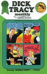 Cover Thumbnail for Dick Tracy Monthly (Blackthorne, 1986 series) #18