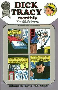 Cover Thumbnail for Dick Tracy Monthly (Blackthorne, 1986 series) #20