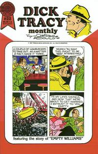 Cover Thumbnail for Dick Tracy Monthly (Blackthorne, 1986 series) #22