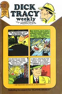 Cover Thumbnail for Dick Tracy Weekly (Blackthorne, 1988 series) #26