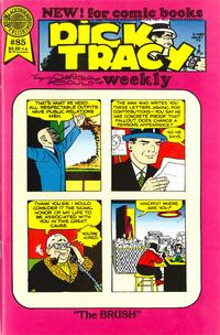 Cover Thumbnail for Dick Tracy Weekly (Blackthorne, 1988 series) #85