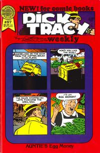 Cover Thumbnail for Dick Tracy Weekly (Blackthorne, 1988 series) #87