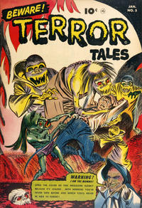 Cover Thumbnail for Beware! Terror Tales (Fawcett, 1952 series) #5