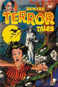 Cover Thumbnail for Beware! Terror Tales (Fawcett, 1952 series) #7