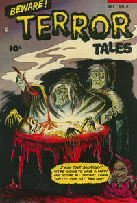 Cover for Beware! Terror Tales (Fawcett, 1952 series) #8