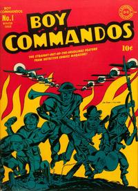 Cover Thumbnail for Boy Commandos (DC, 1942 series) #1
