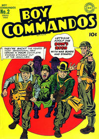 Cover Thumbnail for Boy Commandos (DC, 1942 series) #2