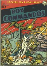 Cover Thumbnail for Boy Commandos (DC, 1942 series) #4