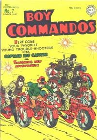 Cover Thumbnail for Boy Commandos (DC, 1942 series) #7