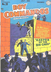 Cover Thumbnail for Boy Commandos (DC, 1942 series) #28