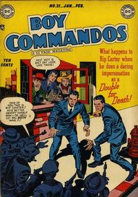Cover Thumbnail for Boy Commandos (DC, 1942 series) #31