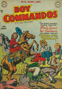 Cover Thumbnail for Boy Commandos (DC, 1942 series) #32