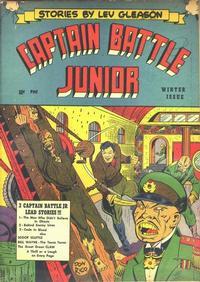 Cover Thumbnail for Captain Battle Jr. (Lev Gleason, 1943 series) #2