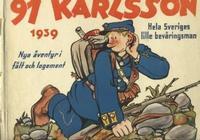 Cover Thumbnail for 91 Karlsson [julalbum] (Åhlén & Åkerlunds, 1934 series) #1939