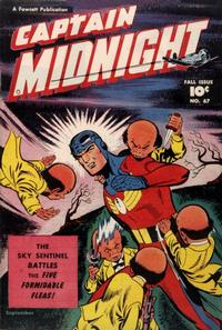 Cover Thumbnail for Captain Midnight (Fawcett, 1942 series) #67