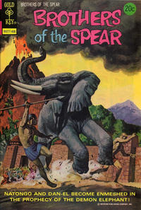 Cover Thumbnail for Brothers of the Spear (Western, 1972 series) #9 [Gold Key]