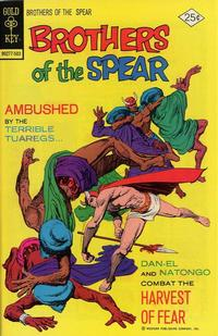 Cover Thumbnail for Brothers of the Spear (Western, 1972 series) #12 [Gold Key Variant]