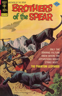 Cover Thumbnail for Brothers of the Spear (Western, 1972 series) #15 [Gold Key]