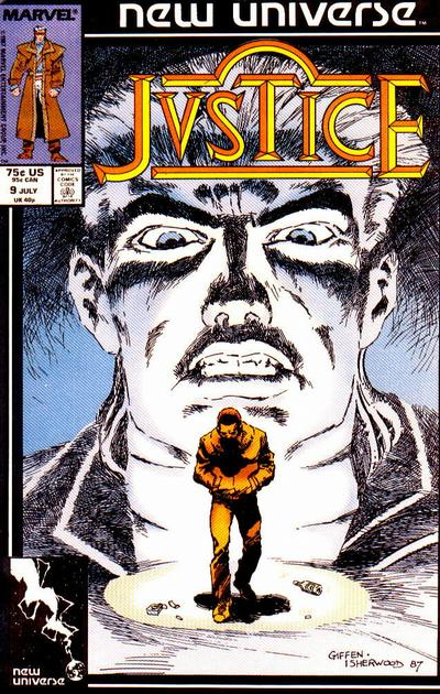 Cover for Justice (Marvel, 1986 series) #9 [Direct]