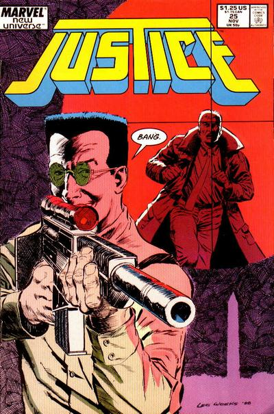 Cover for Justice (Marvel, 1986 series) #25