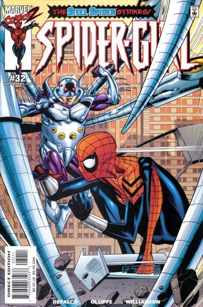 Cover for Spider-Girl (Marvel, 1998 series) #32