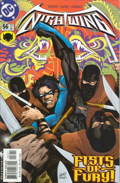 Cover for Nightwing (DC, 1996 series) #56