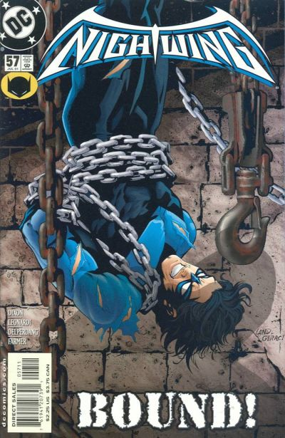 Cover for Nightwing (DC, 1996 series) #57 [Direct Sales]